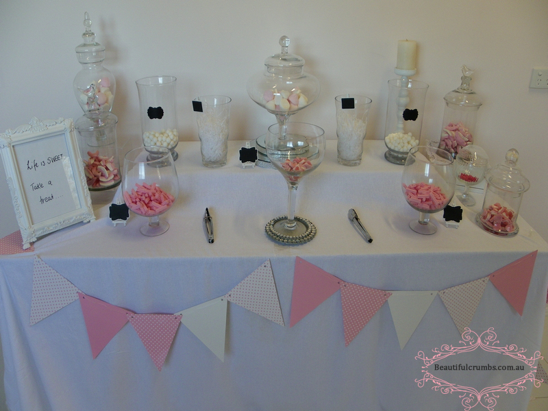 Candy Jar Buffet