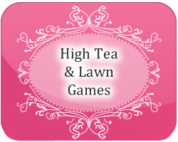 high tea and lawn games